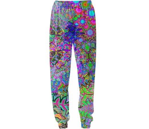 Abstract Flora SweatPants