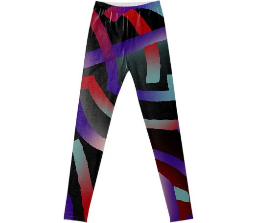 PAOM, Print All Over Me, digital print, design, fashion, style, collaboration, gambette, Leggings, Leggings, Leggings, autumn winter spring summer, unisex, Spandex, Bottoms