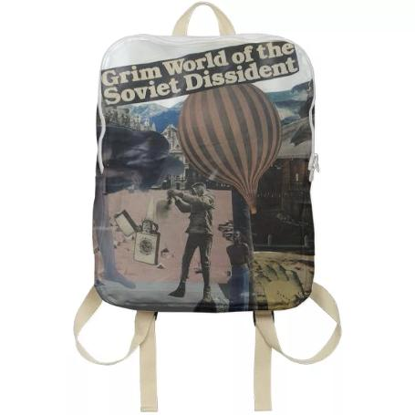 Grim World of the Soviet Dissident Backpack