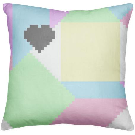 Pastel love Pillow