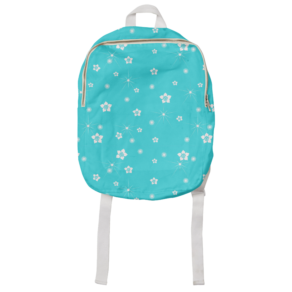 Abstract Flowers Explosion Kids Backpack