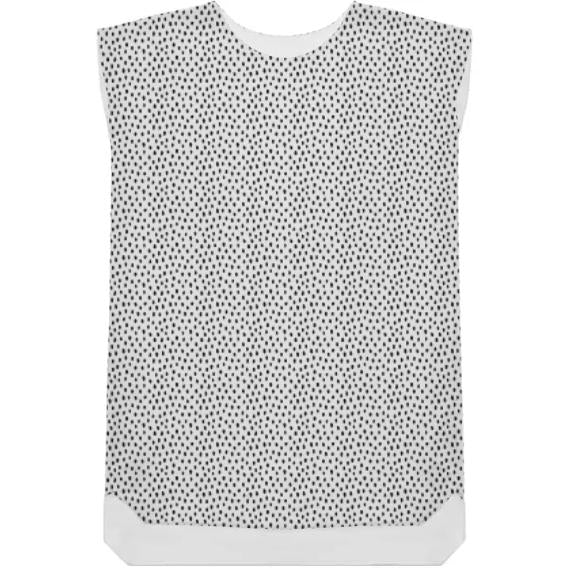 Shift Dress Irregular Dots