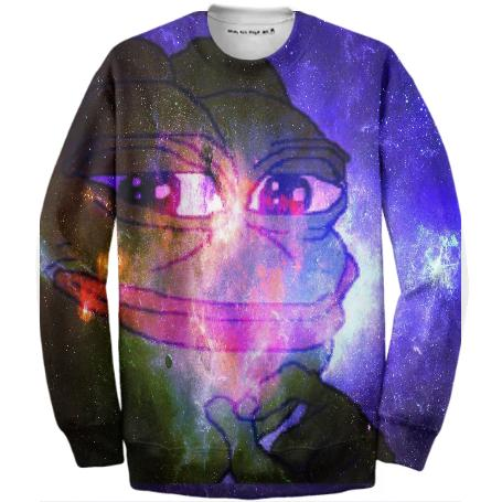 COSMIC PEPE PULLOVER