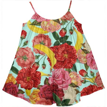 Tropical Forest Kids Tent Dress