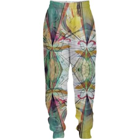 Dimensions in color active wear pants