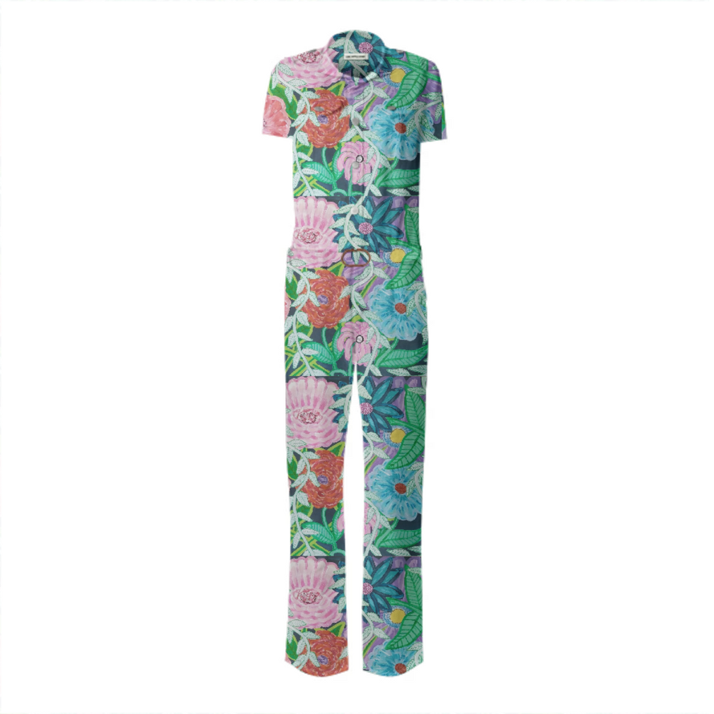 Flowers on the field jumpsuit