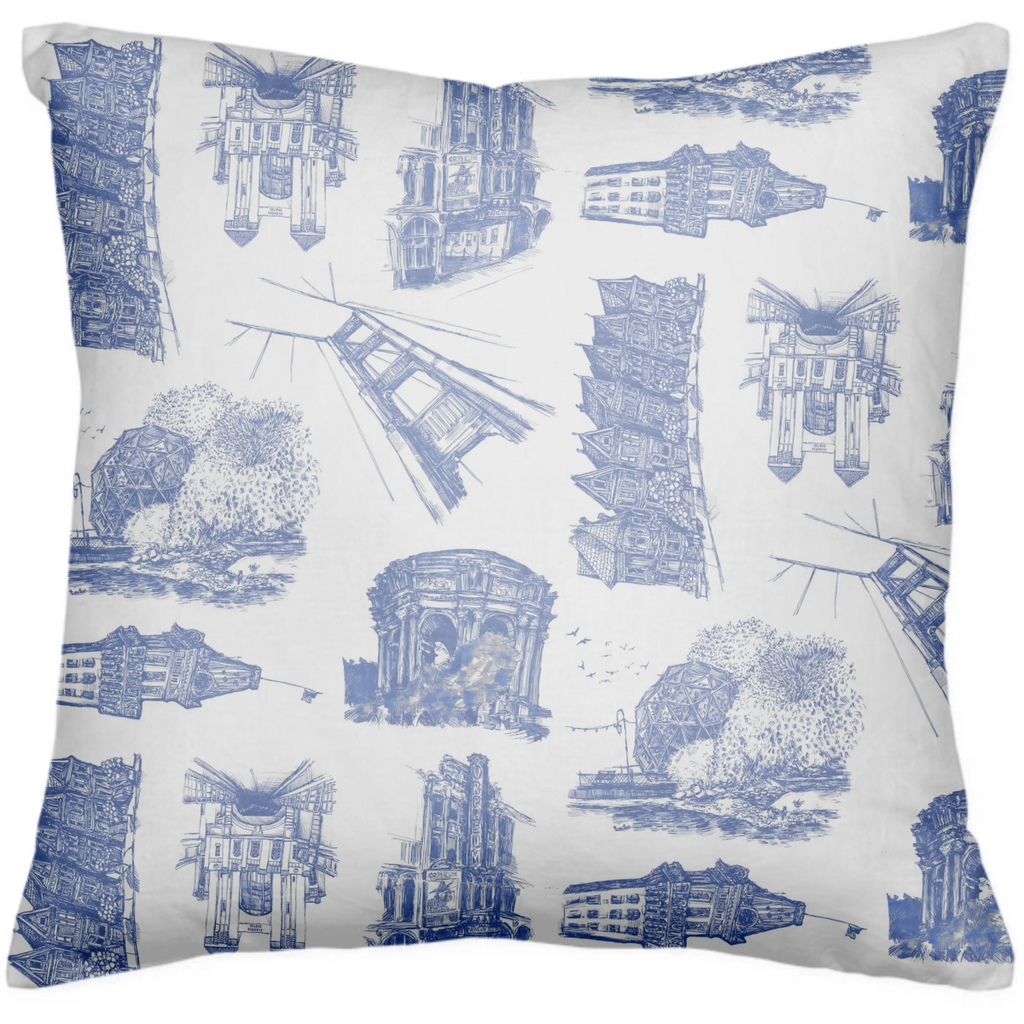 Bay de Jouy Pillow
