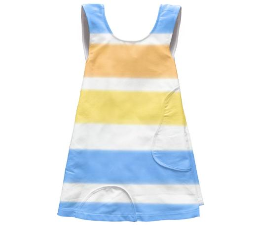 Super Sweet Bold Stripe Toddler Dress