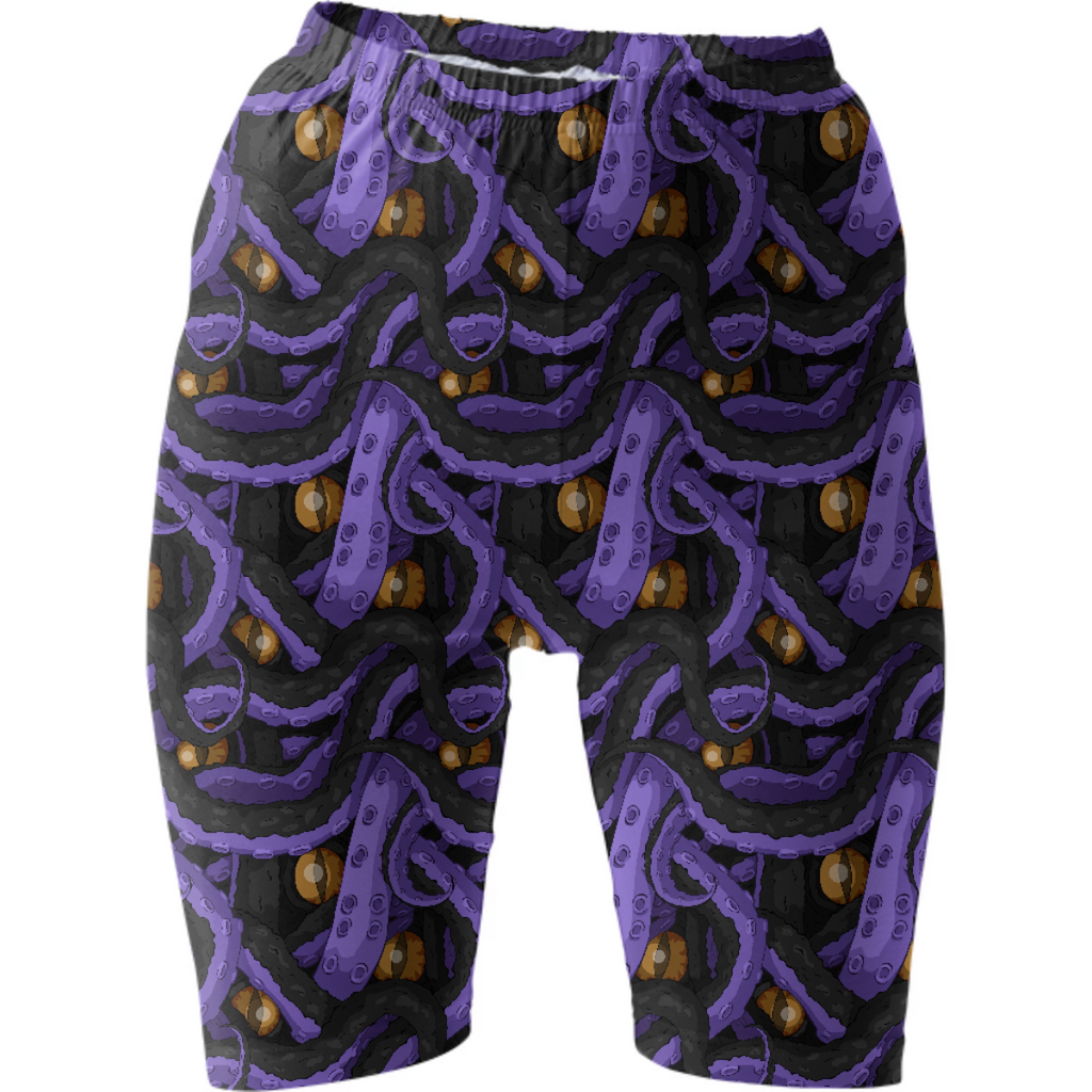 Kracken Tentacle Bike Shorts