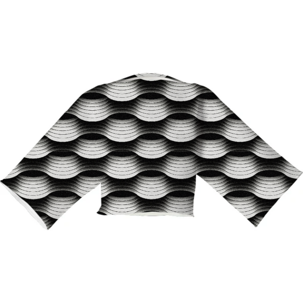 Undulate Neoprene Top