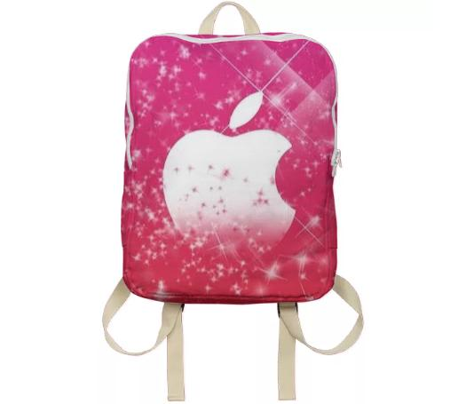 Apple bookbag Fab Chic