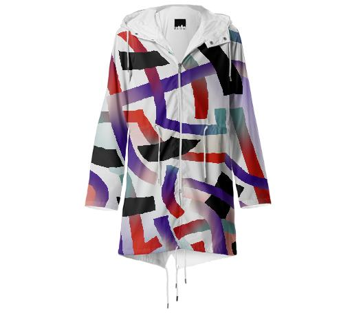 PAOM, Print All Over Me, digital print, design, fashion, style, collaboration, gambette, Raincoat, Raincoat, Raincoat, Bolide, spring summer, unisex, Poly, Outerwear