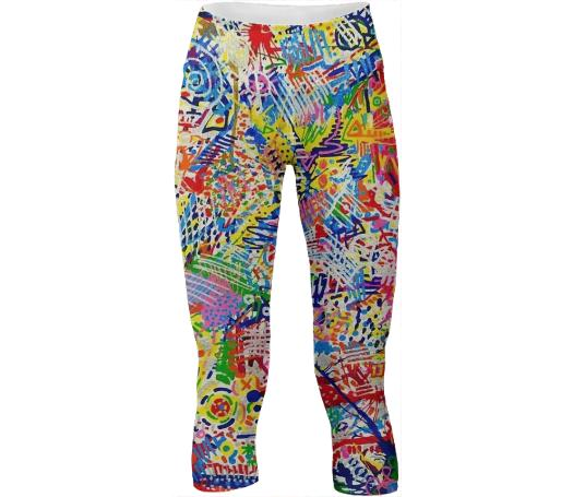 Super Splatter Yoga Pants