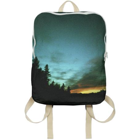 Wyoming Sunset Backpack