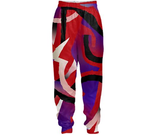 PAOM, Print All Over Me, digital print, design, fashion, style, collaboration, gambette, Tracksuit Pant, Tracksuit-Pant, TracksuitPant, Solar, autumn winter spring summer, unisex, Nylon, Bottoms