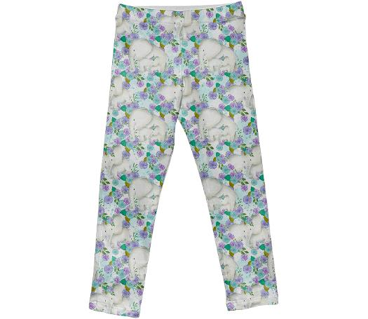 Elephant Garden Leggings