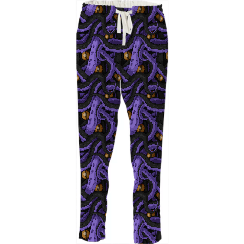 Kracken Tentacles Drawstring Pants