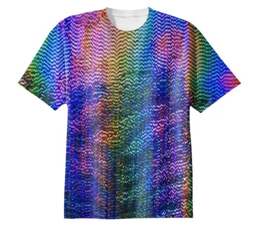 Iridescent Lands Tee