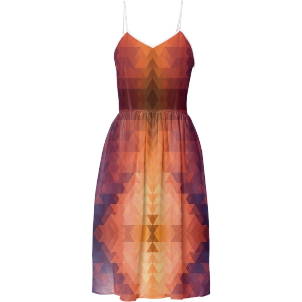Aztec Sunrise Dress