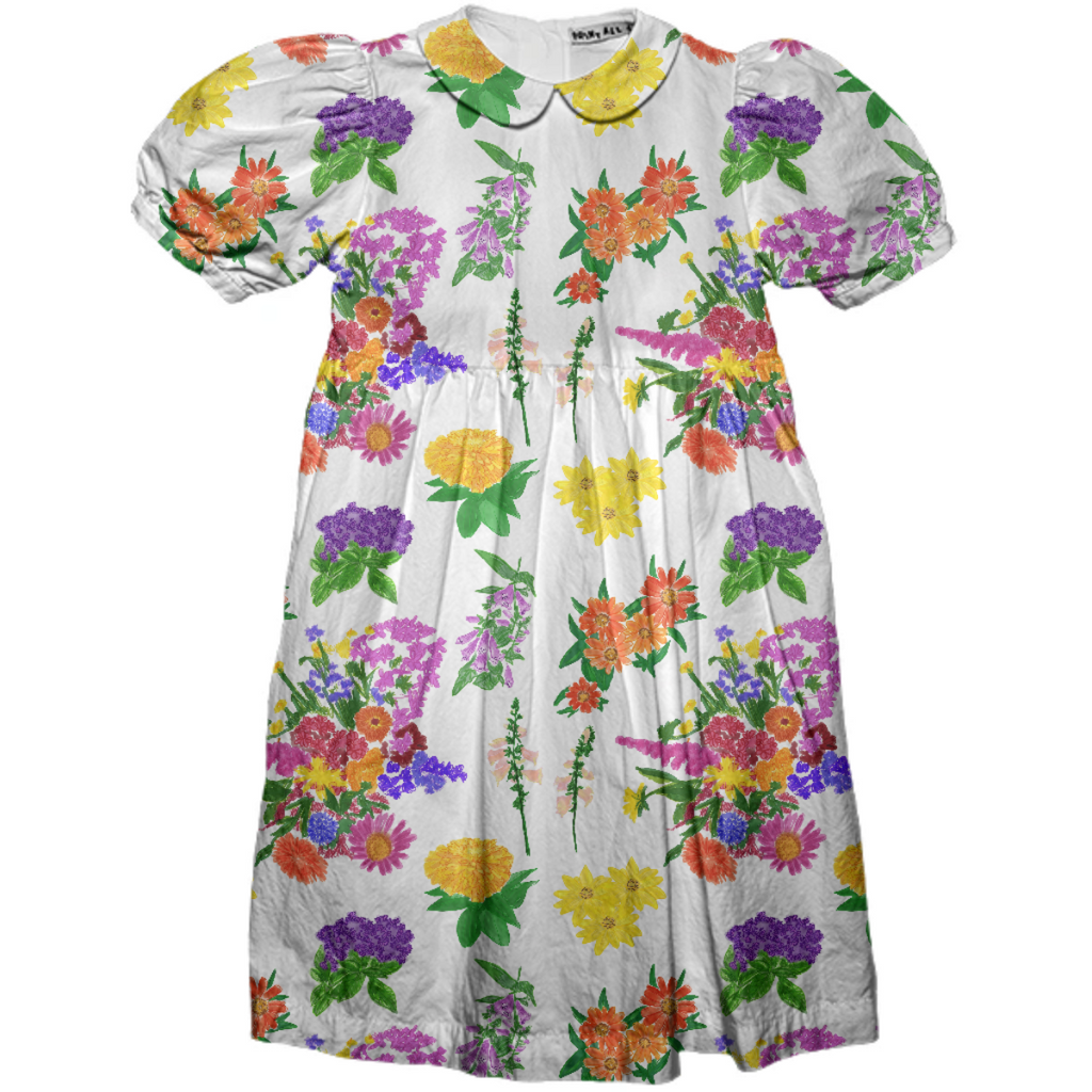 Maine August Garden Kids Party Dress