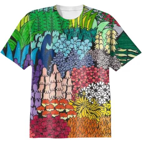 Study of Terrestrial and Marine Environments Cotton T shirt