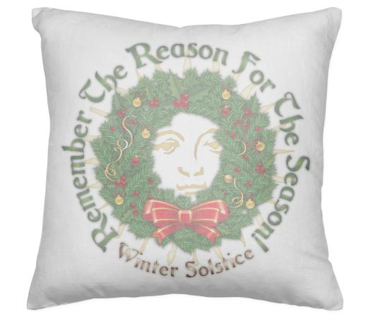 Remember The Reason For The Season Yule Pillow