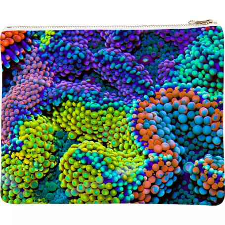 PAOM, Print All Over Me, digital print, design, fashion, style, collaboration, coral-morphologic, coral morphologic, Neoprene Clutch, Neoprene-Clutch, NeopreneClutch, Ricordea, autumn winter spring summer, unisex, Neoprene, Bags