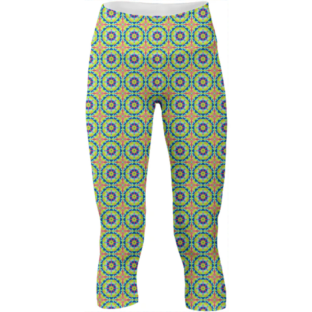 Neon Pattern Yoga Pants #5
