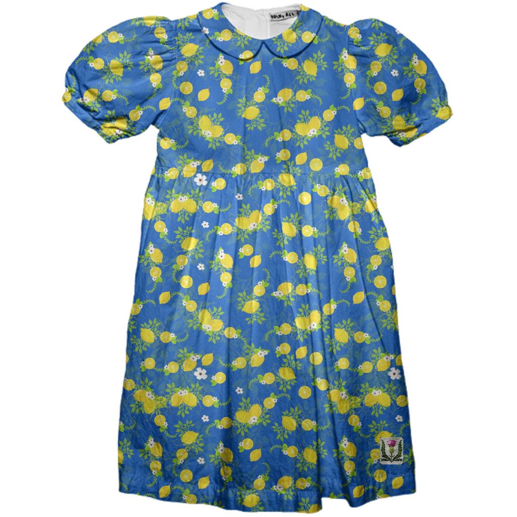 Fairlings Delight's Lemon Drops Girl's Party Dress 53086