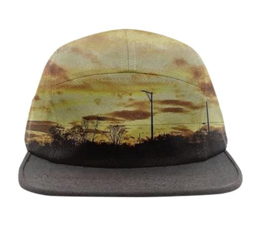 Fire in the sky hat