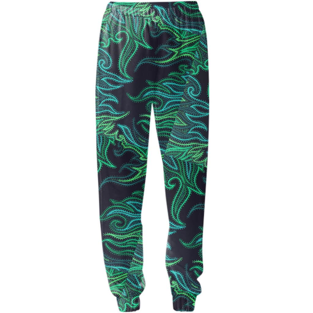 Green flame sweats