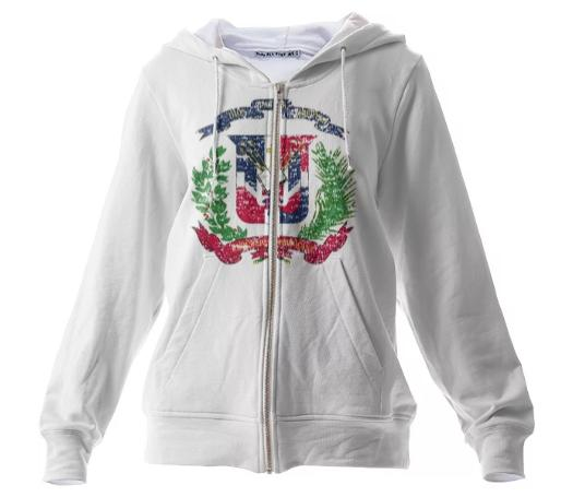 Dominican Republic Coat of Arms Hoodie