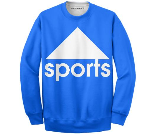 SPORTS KLEIN BLUE SWEATSHIRT