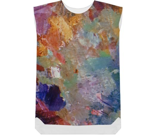 Paint Palatte Shift Dress
