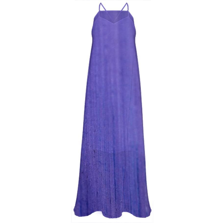 Designers Luxury purple Art Dress