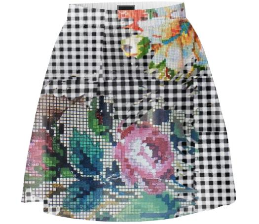 TRACY PORTER ISLEHEART SKIRT