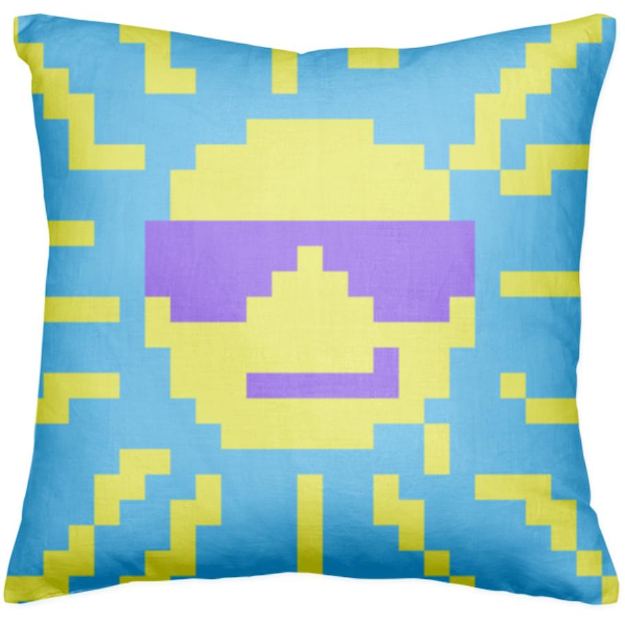 Some Cool Sunshine Pillow