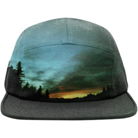 Wyoming Sunset Hat