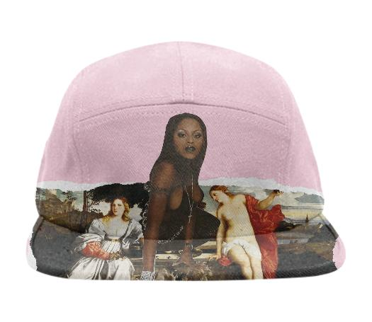 Foxy Baseball Hat in Pink