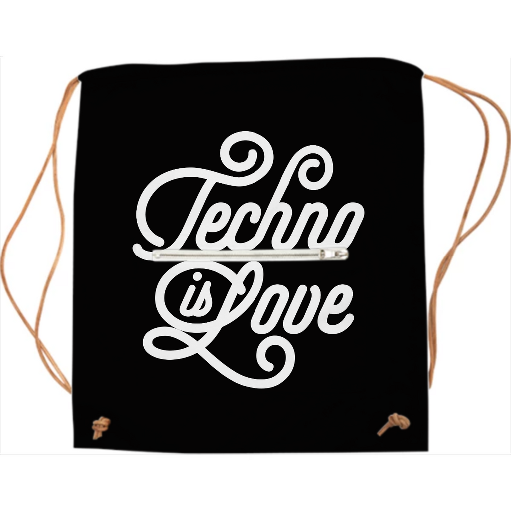 Techno is Love sports-bag