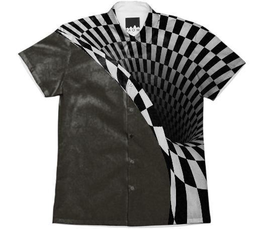Optical illusion Short Sleeve Workshirt 5