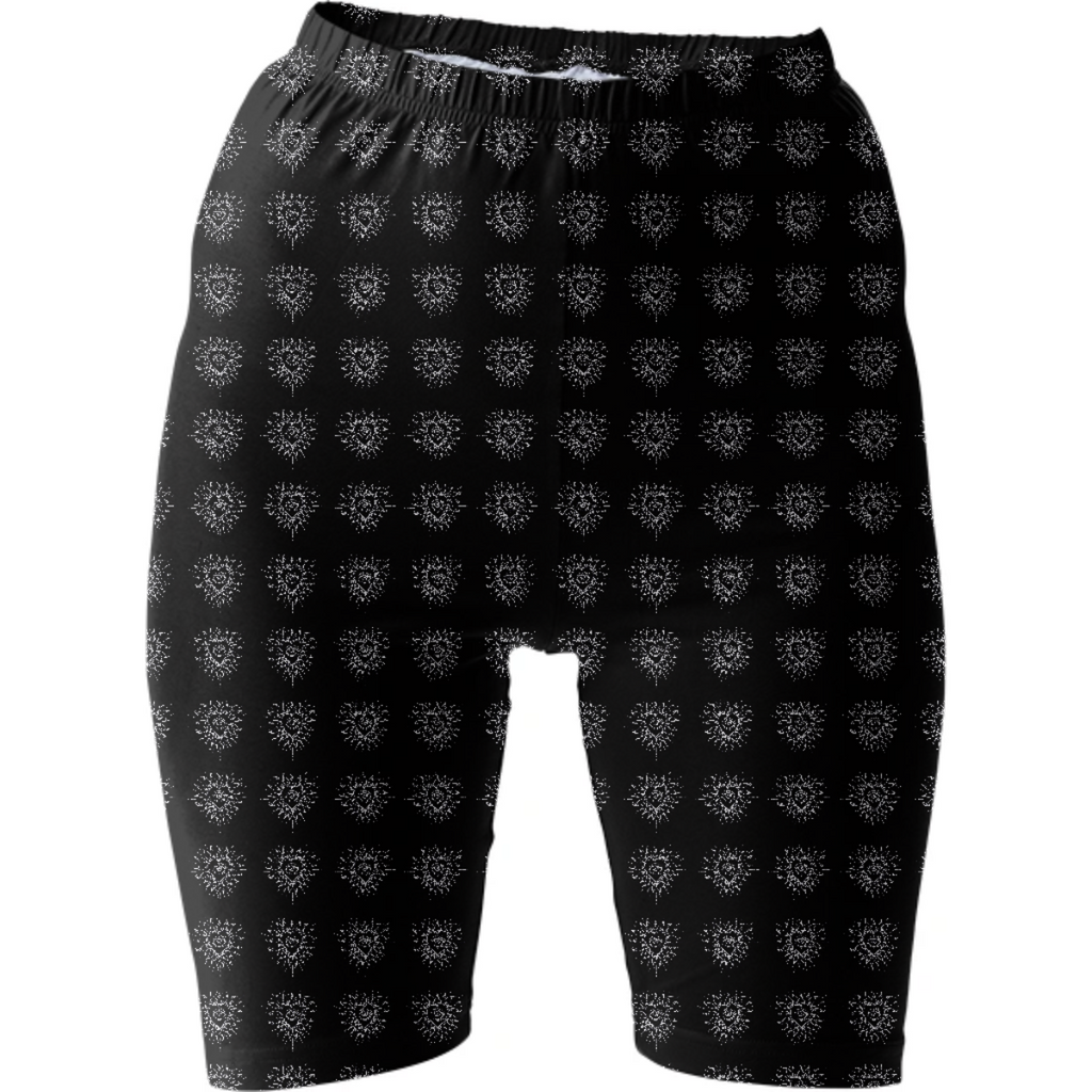 """Puso Mata"" Bike Shorts"