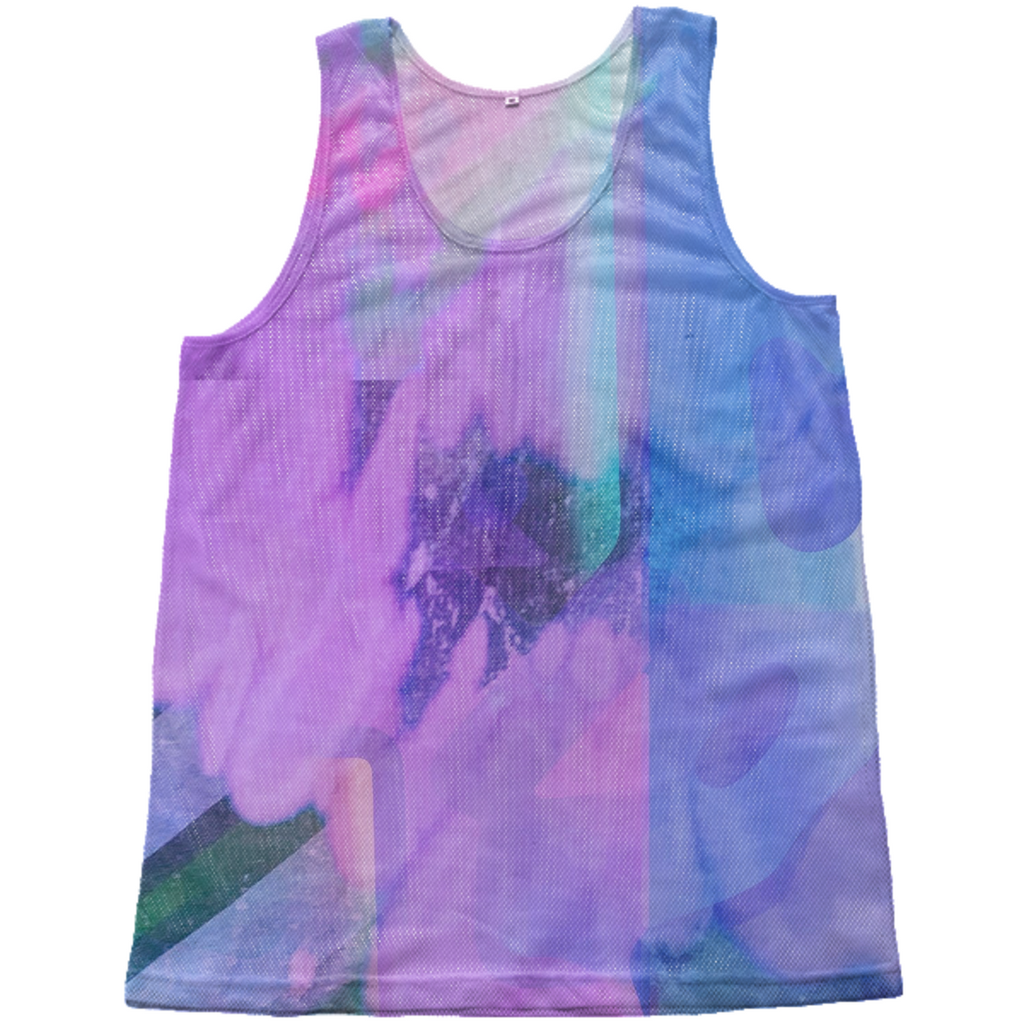 Color blotch tank