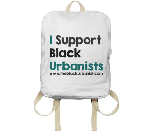 I Support Black Urbanists Backpack