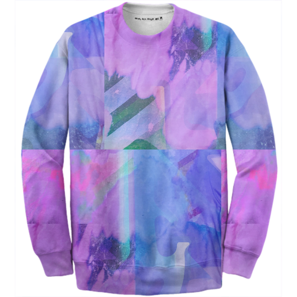 Color Blotch Sweater