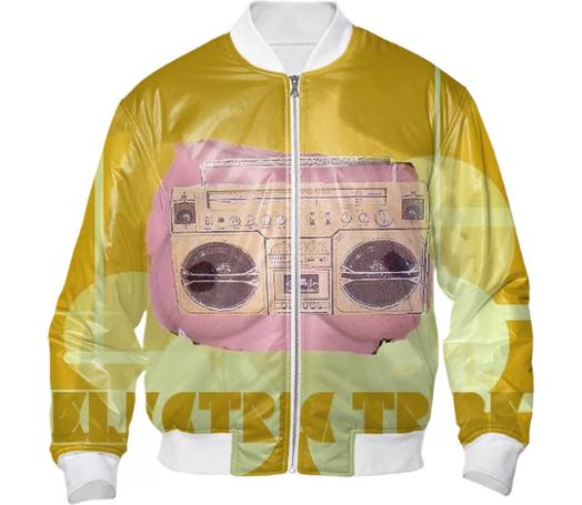 Electric Tribe Soul Beats Bomber Jacket