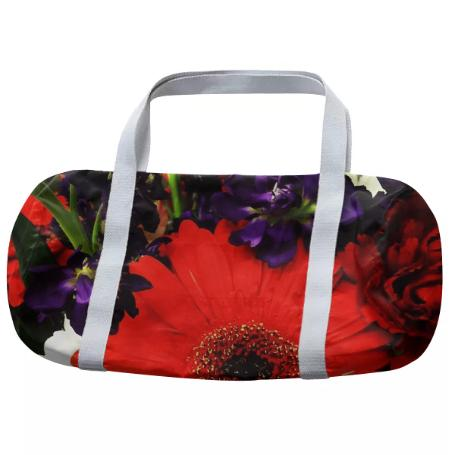 Bold Flowers Duffle Bag