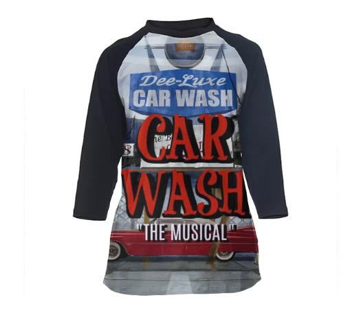Car Wash The Musical Classic fit baseball shirt