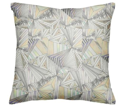 geometrical dimension pillow