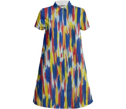 Downpour Mini Shirt Dress